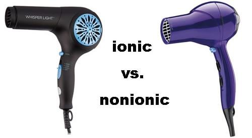 ionic hair dryer vs regular