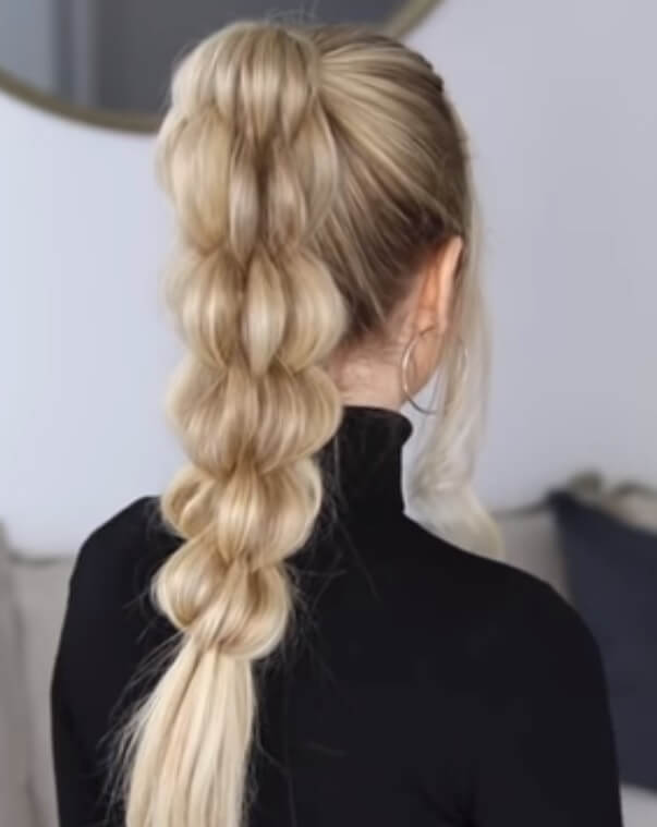 How to Do Braided Ponytail