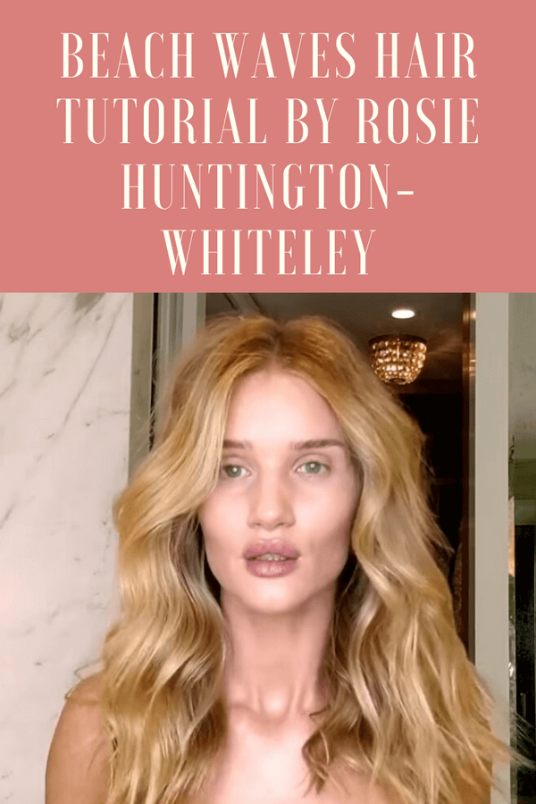 Rosie Huntington-Whiteley Long Blonde Hair