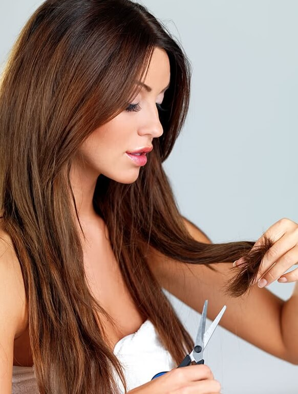 How to Trim Long Hair at Home