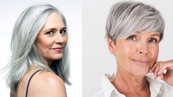 How to Look Younger With Grey Hair